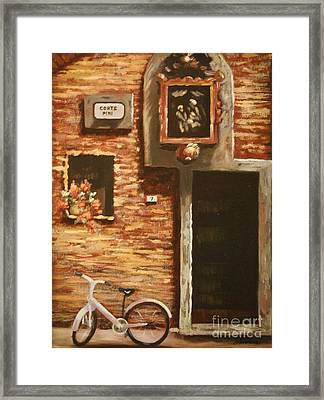 Lucca Framed Print by Barbara Sutton