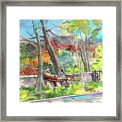 Lucca In Italy 04 Framed Print by Miki De Goodaboom