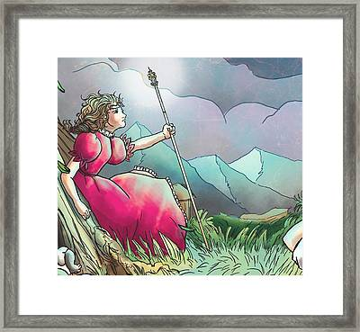 Lucinda II Framed Print by Reynold Jay