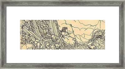 Lucinda Panarama Framed Print by Reynold Jay
