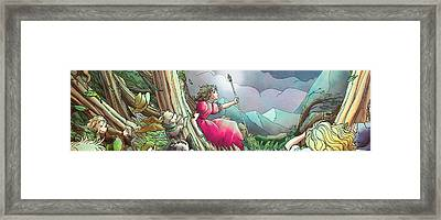 Lucinda  Framed Print by Reynold Jay