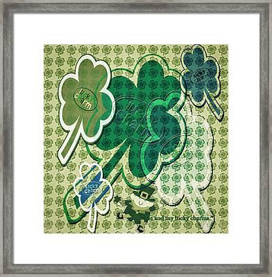 Lucky Charms Framed Print by Steve Ohlsen