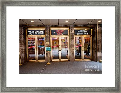 Lucky Guy Framed Print by Thomas Marchessault