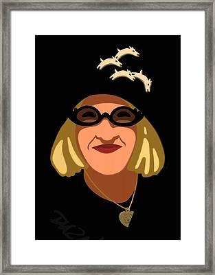 Lucky's Friend Framed Print by Tom Dickson