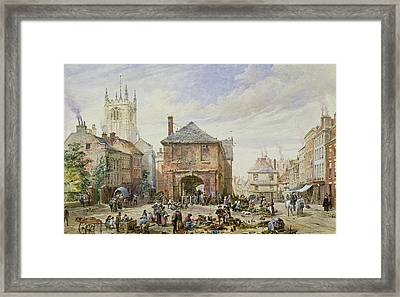 Ludlow Framed Print by Louise J Rayner