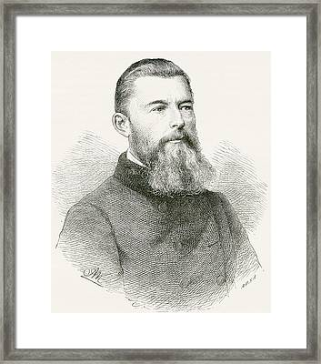 Ludwig Andreas Von Feuerbach, 1804 Framed Print by Vintage Design Pics
