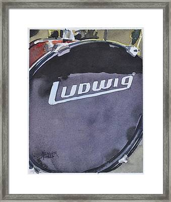 Ludwig Framed Print by Spencer Meagher