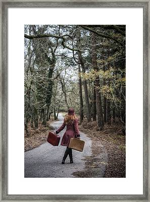 Luggage Framed Print by Joana Kruse