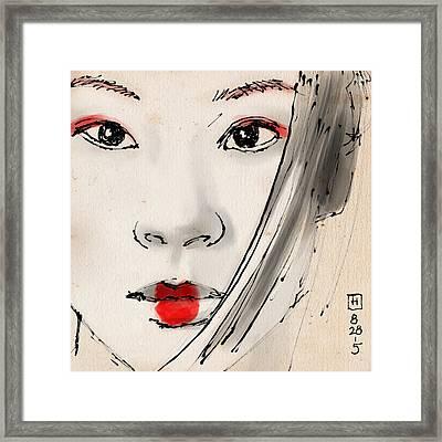 Lulu Framed Print by H James Hoff