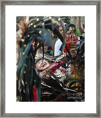 Philippine Aliwan Festival Framed Print by Stacey Leigh Gonzalez
