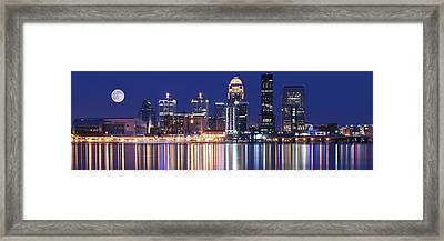 Luminescent Louisville Framed Print by Frozen in Time Fine Art Photography