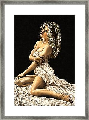 Luminous Framed Print by Richard Young