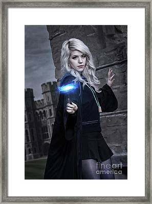 Luna Lovegood Framed Print by Ian MacDonald