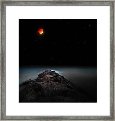 Lunar Eclipse Framed Print by Bill Wakeley
