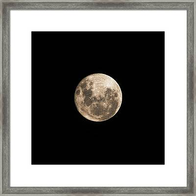 Lunar Perigee Framed Print by Andrew Paranavitana