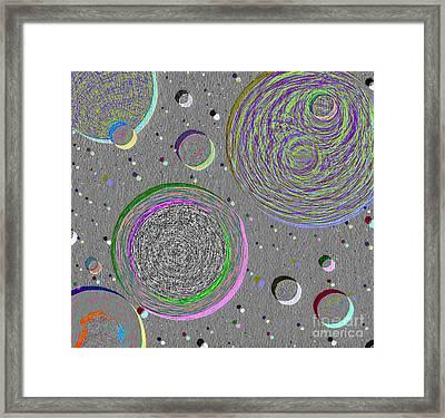 Lunarscape Framed Print by Norma Appleton
