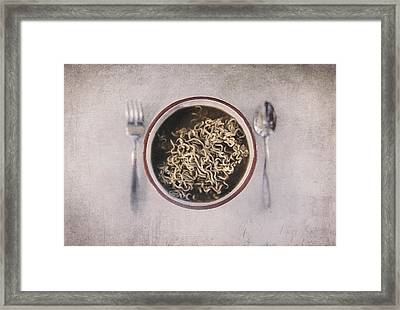 Lunch Framed Print by Scott Norris