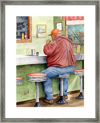 Lunchtime Framed Print by Sam Sidders