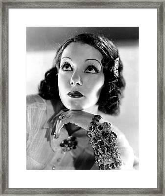 Lupe Velez, Mgm, 1933, Photo Framed Print by Everett