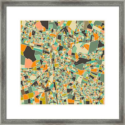 Lusaka Framed Print by Jazzberry Blue