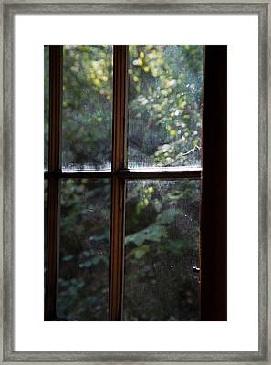 Lush Cabin View Framed Print by MaJoR Images