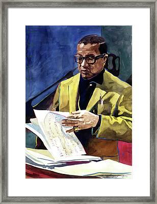 Lush Life Billy Strayhorn Framed Print by David Lloyd Glover