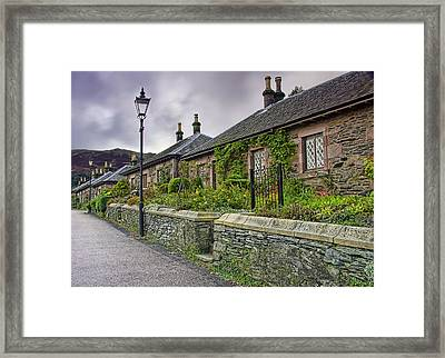 Luss Cottages Framed Print by Sam Smith
