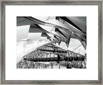 Lyrical Deconstruct Framed Print by Wendy J St Christopher