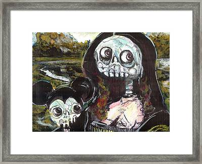 M And M Framed Print by Robert Wolverton Jr