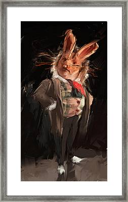 M. Lapin Framed Print by H James Hoff