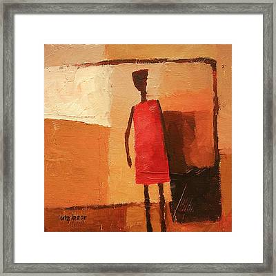 Maasai Framed Print by Lutz Baar