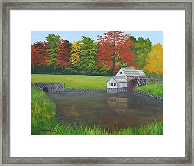 Mabry Grist Mill  Framed Print by Ruth  Housley