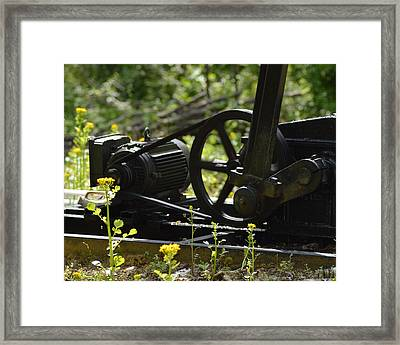 Machine In Motion Framed Print by Belinda Stucki