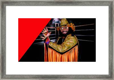 Macho Man Randy Savage Collection Framed Print by Marvin Blaine