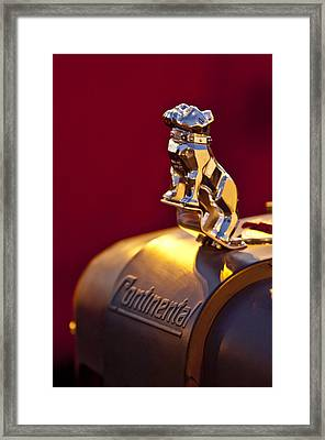 Mack Truck Hood Ornament Framed Print by Jill Reger