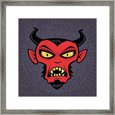 Mad Devil Framed Print by John Schwegel