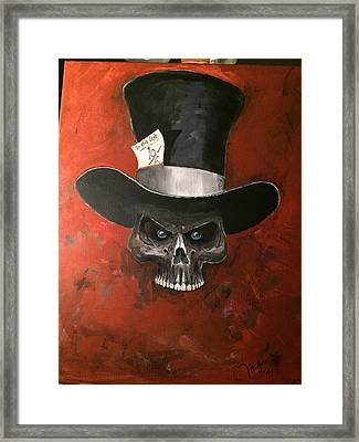 Mad Hatter Framed Print by Matt Martin