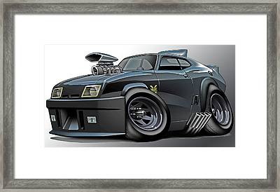 Mad Max Falcon Interceptor Framed Print by Maddmax