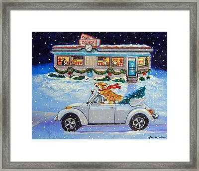 Mad Max's Ride Framed Print by Lyn Cook