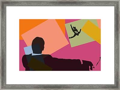 Mad Men Pop Art Framed Print by Dan Sproul
