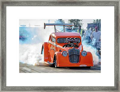 Mad Mike Racing Framed Print by Bill Gallagher