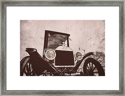 Made In Usa Framed Print by Caitlyn  Grasso
