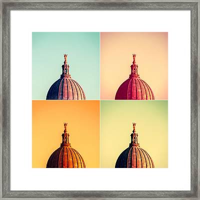 Madison Polyptych Framed Print by Todd Klassy