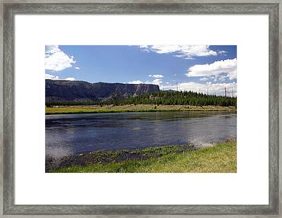 Madison River Valley Framed Print by Marty Koch