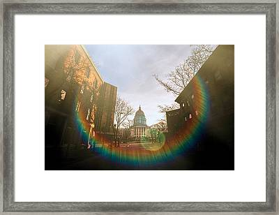 Madison Spectrum Framed Print by Todd Klassy