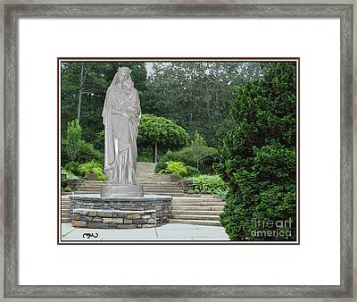 Madonna And Child 1 Framed Print by Pemaro