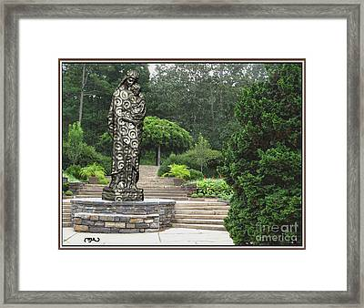 Madonna And Child 3 Framed Print by Pemaro