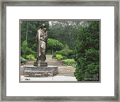 Madonna And Child 4 Framed Print by Pemaro