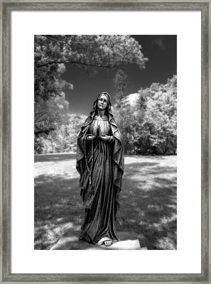 Madonna Framed Print by Tom Mc Nemar