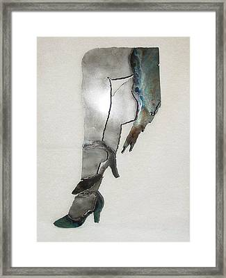 Mae Sold Framed Print by Steve Mudge